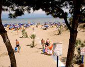 Strand in Lignano Sabbiadoro