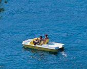 Ein Tretboot mieten