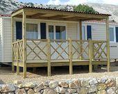 Campingplatz mit Mobilheime in Kroatien