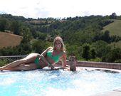 Relax im Swimmingpool des Campingplatzes