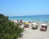 Der Strand in Apulien