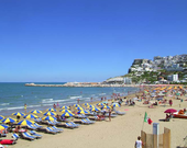 Der Strand des Camping Villaggio Bellariva