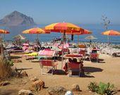 Der Strand von Camping Village El Bahira