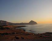 Das Meer bei Sonnenuntergang