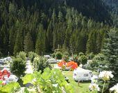 Die Stellplätze des Camping Miravalle