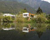 Campingplatz in Lagundo, Südtirol