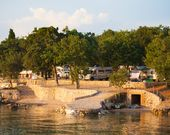 Camping auf der Insel Krk, Kroatien