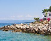 Camping am Meer in Kroatien