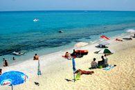 La playa de Calabria