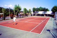 Campo da Tennis nel campeggio