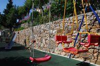 Il parco giochi del campeggio