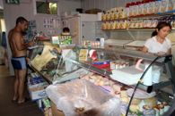 The supermarket at the campsite