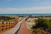 Passerella per la spiaggia