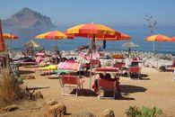 La spiaggia del Camping Village El Bahira