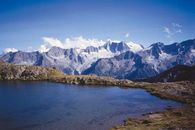 Panorama of Trentino Alto Adige