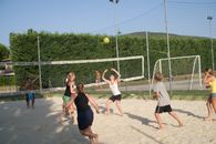 Beach Volley at the camping