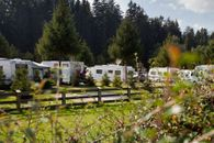 Camping with pitches for camper