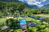 Camping with swimming pool in Merano