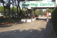 The entrance of the Sporting Center