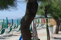 Spiaggia del camping village in Liguria