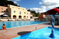 The resort pools