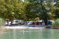 Campingplatz am Lago von Mergozzo, Piemont
