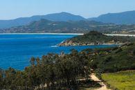 The beach of Costa Rei