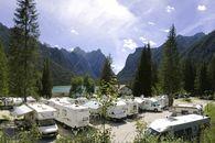 Campeggio sul Lago di Dobbiaco
