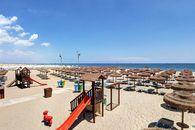 Campeggio con spiaggia attrezzata