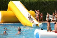 Giochi in acqua a Tarragona - Catalogna