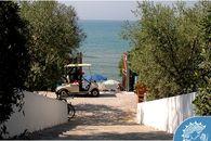 Campingplatz auf der Meer in Fondi, Latina
