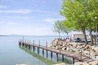 Camping on Lake Trasimeno