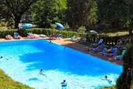 The swimming pool at the camping