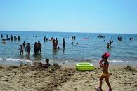 La plage du Villaggio le Palatine, Basilicata