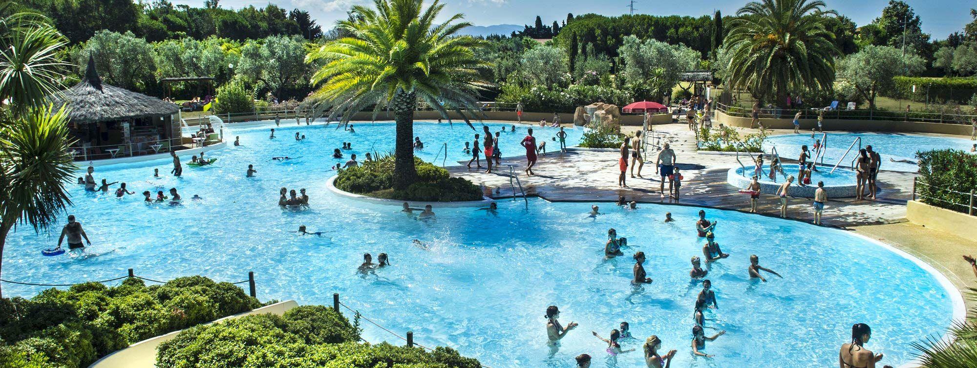 Camping mit Schwimmbädern in der Toskana