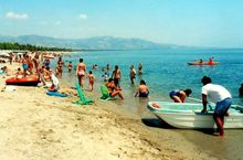 Das Meer in Kalabrien