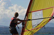 Windsurfing auf Bolsenasee