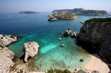 Meer im Apulien