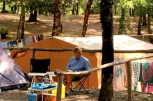 Das Camping in der Toskana