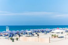 Strand in der Toskana