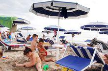 Der Strand in Chioggia