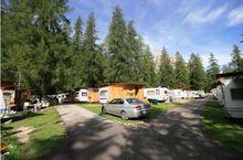 Campingplatz mit Toiletten für Behinderte, Cortina d'Ampezzo
