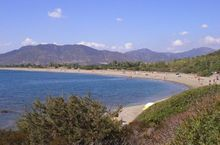 Das Meer in Villaputzu, Sardinien