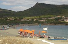 Village Camping am Meer, Sardinien