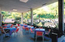 Das Restaurant des Campingplatzes