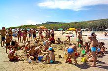 Spiele für Kinder am Strand