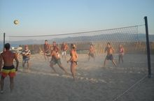 Beach Volley am Strand