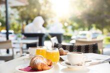 Frühstück im Löwenhof