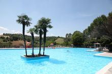 Camping mit Pool in Salsomaggiore, Emilia Romagna