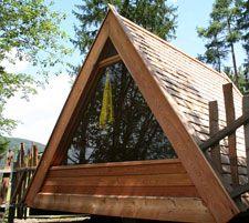 BIO tenda in legno